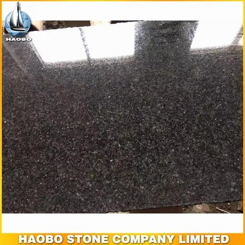 Dalle de granit noir absolu de qualité supérieure polie pour ...