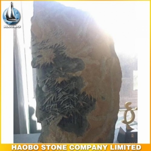 Bamboo Basalt Stone Sculpture Decoration